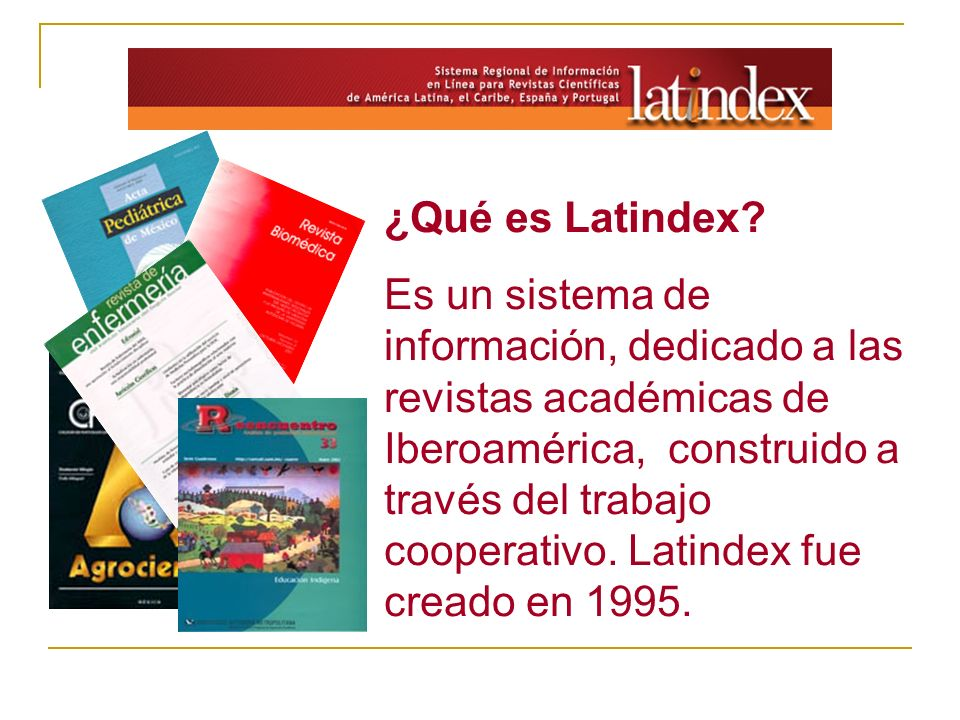 ¿Qué es Latindex