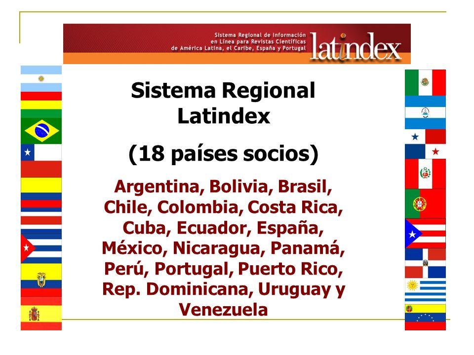 Sistema Regional Latindex