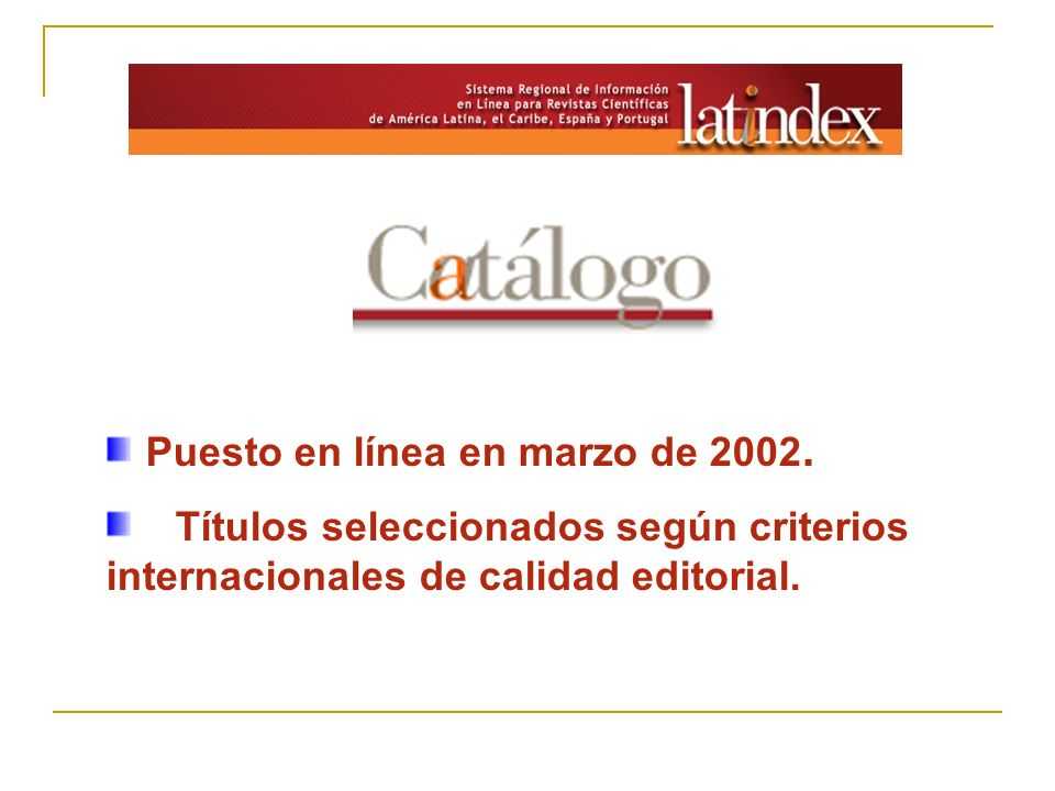 Puesto en línea en marzo de 2002.