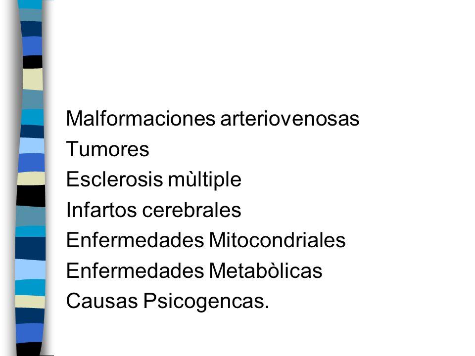 Malformaciones arteriovenosas