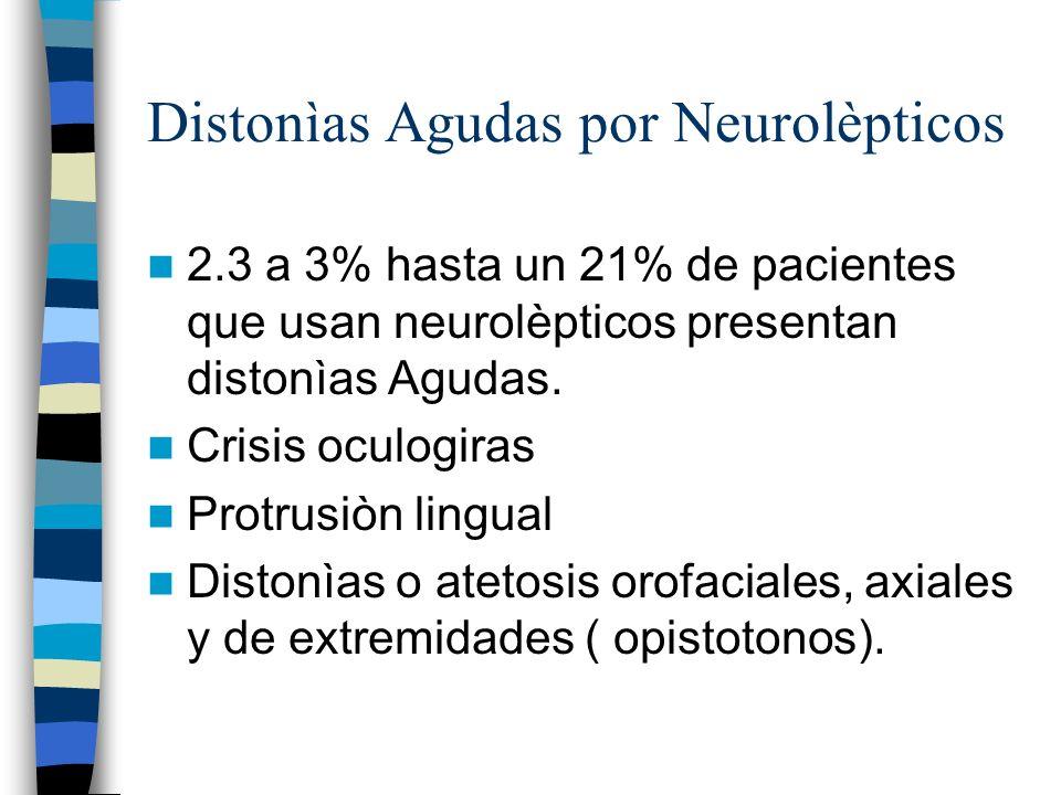 Distonìas Agudas por Neurolèpticos