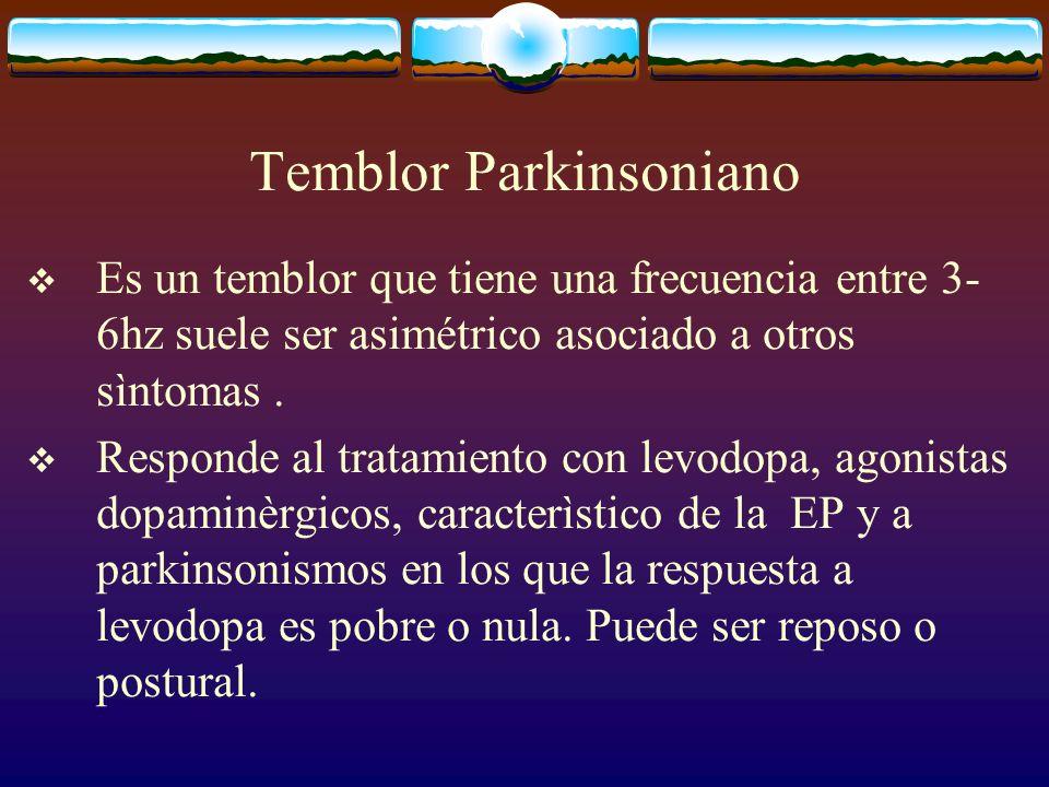 Temblor Parkinsoniano