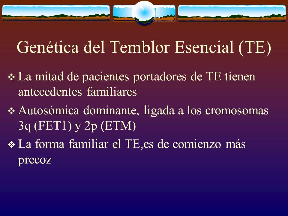 Genética del Temblor Esencial (TE)