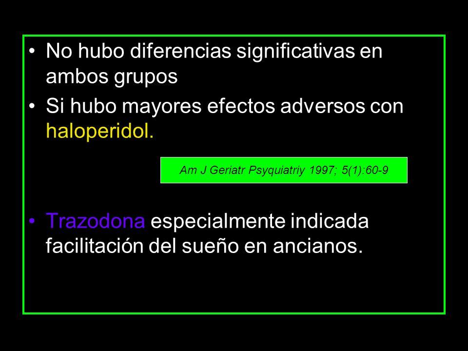 Am J Geriatr Psyquiatriy 1997; 5(1):60-9