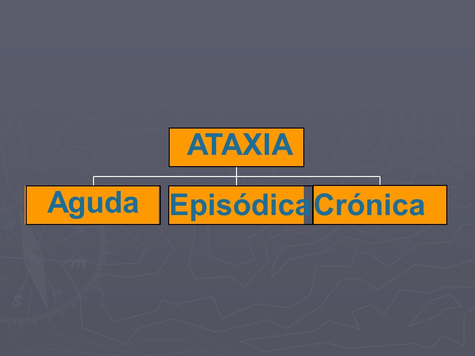 ATAXIA Aguda Episódica Crónica