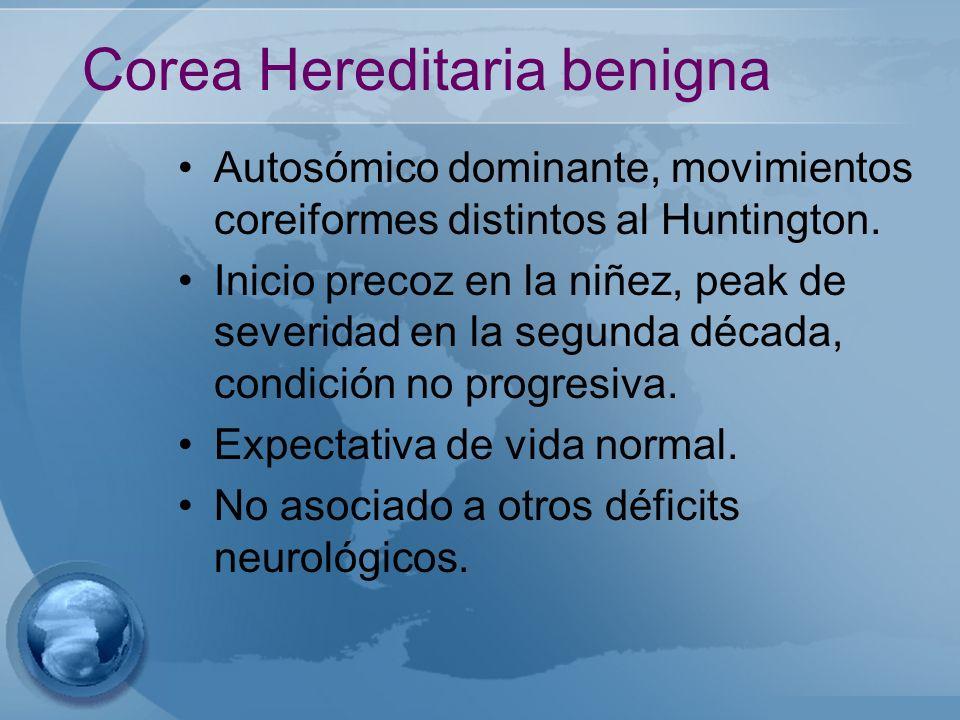 Corea Hereditaria benigna