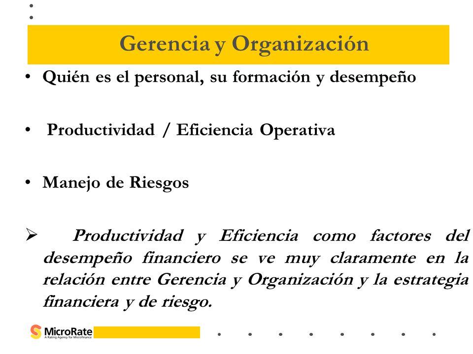 Gerencia y Organización