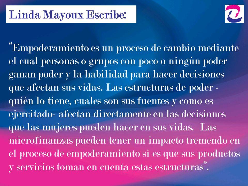 Linda Mayoux Escribe: