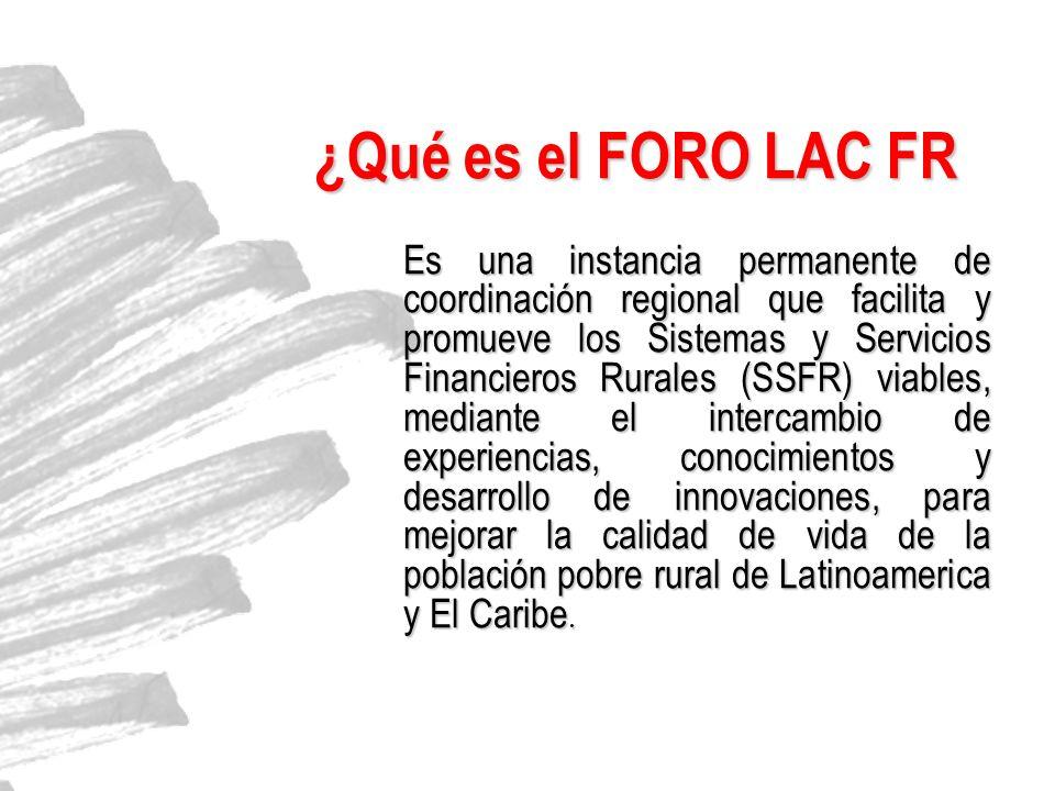 ¿Qué es el FORO LAC FR