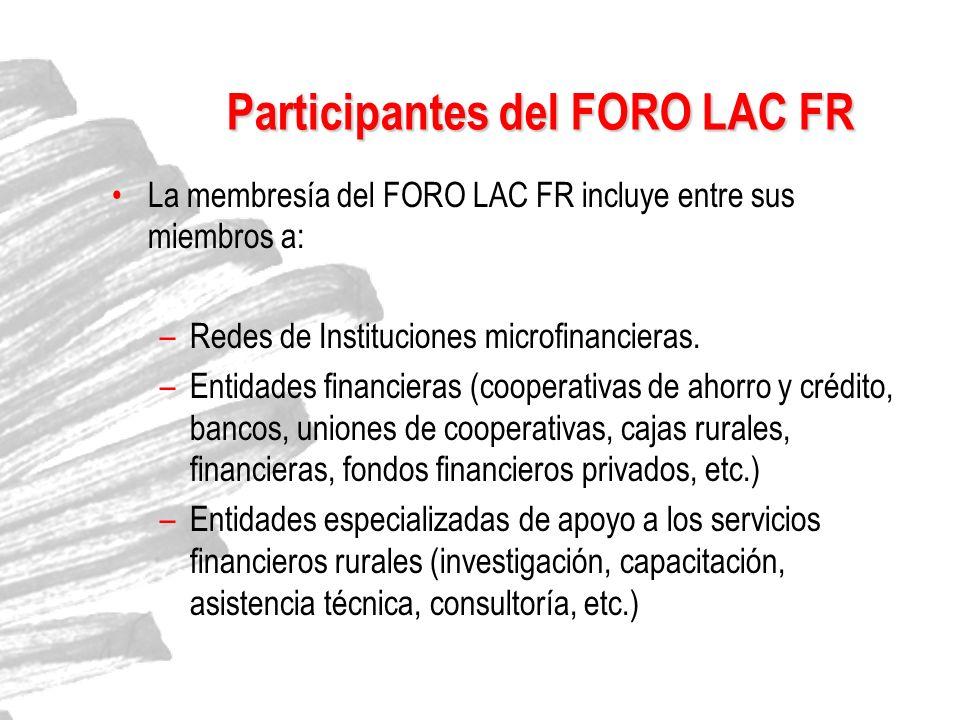 Participantes del FORO LAC FR