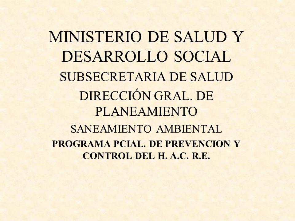 PROGRAMA PCIAL. DE PREVENCION Y CONTROL DEL H. A.C. R.E.
