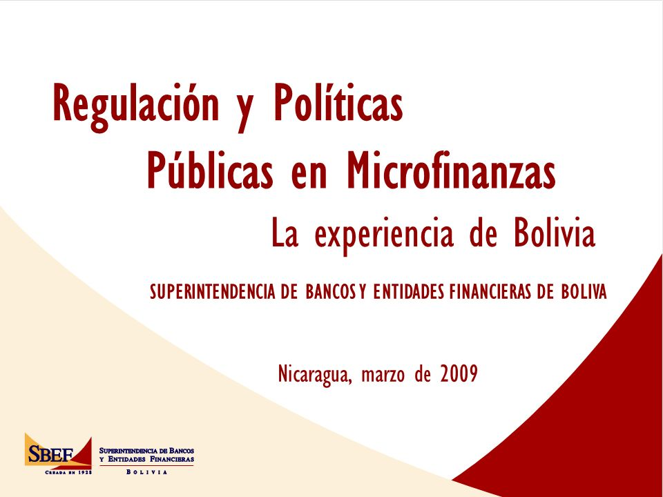 Regulación y Políticas
