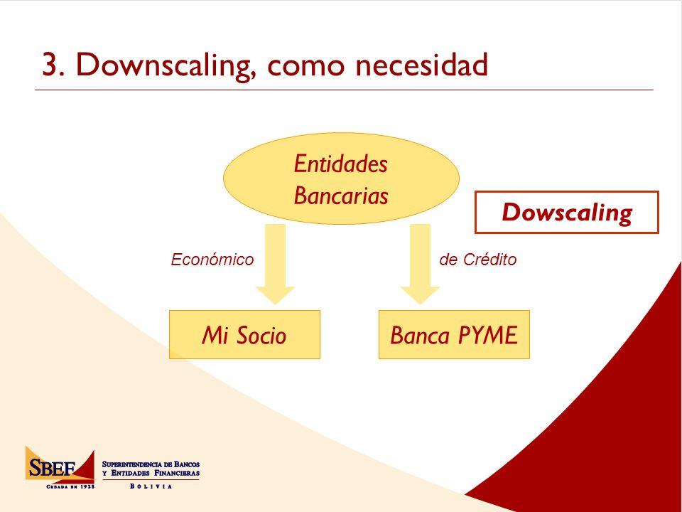 3. Downscaling, como necesidad