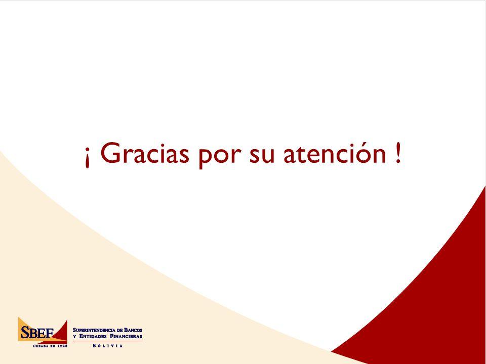 ¡ Gracias por su atención !