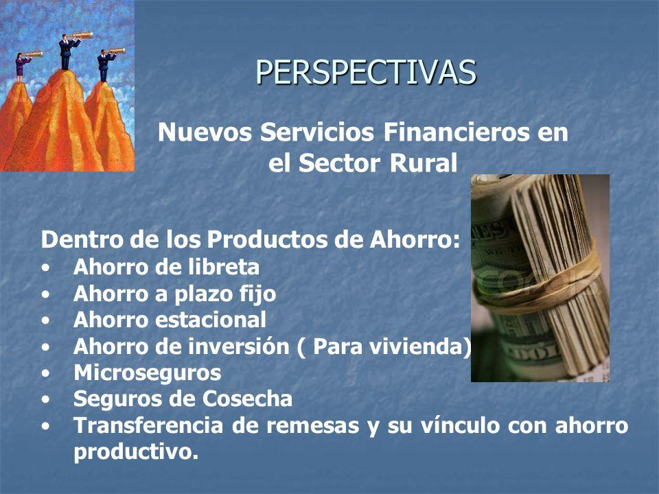 Nuevos Servicios Financieros en