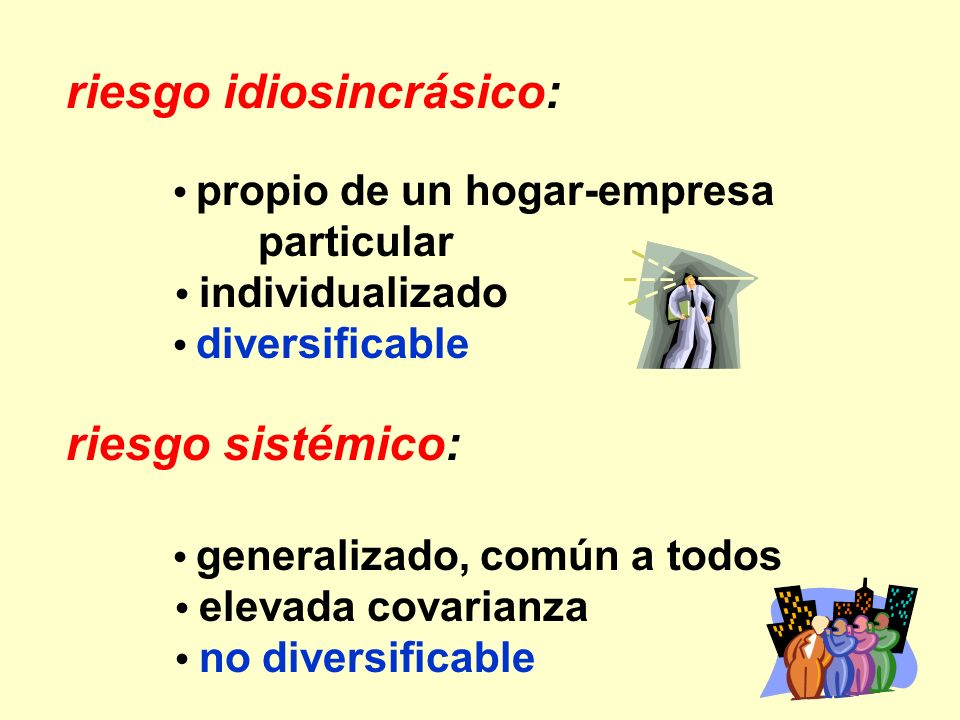 riesgo idiosincrásico: