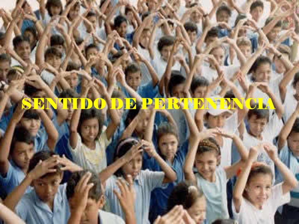SENTIDO DE PERTENENCIA