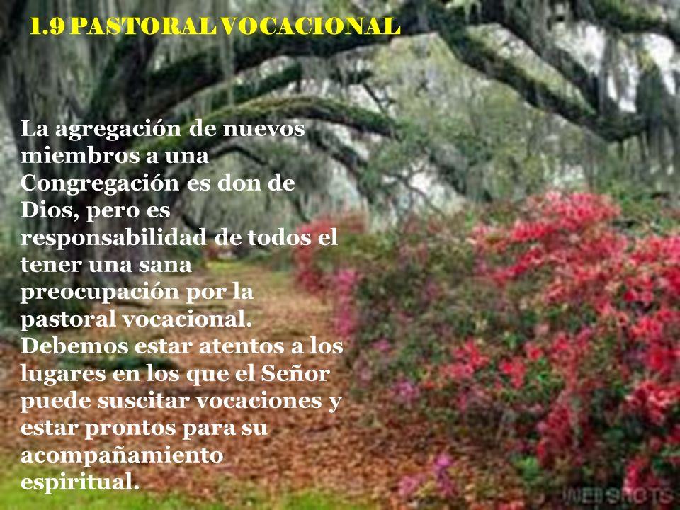 1.9 PASTORAL VOCACIONAL