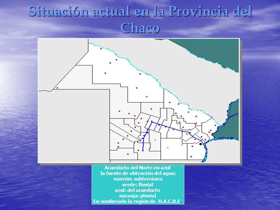 Situación actual en la Provincia del Chaco