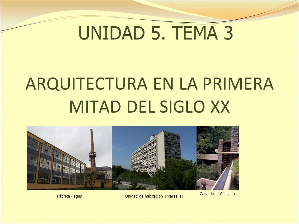 Arquitectura en la primera mitad del siglo xx ppt descargar for Arquitectura del siglo 20