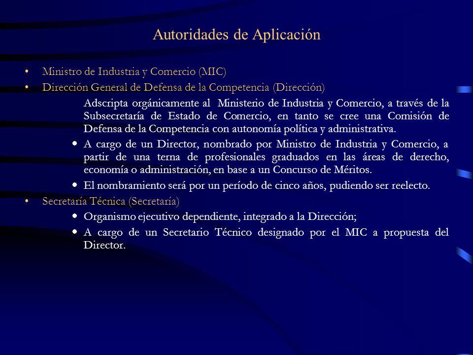 Autoridades de Aplicación