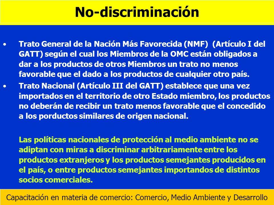 No-discriminación