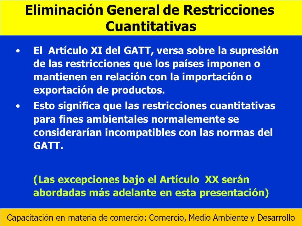 Eliminación General de Restricciones