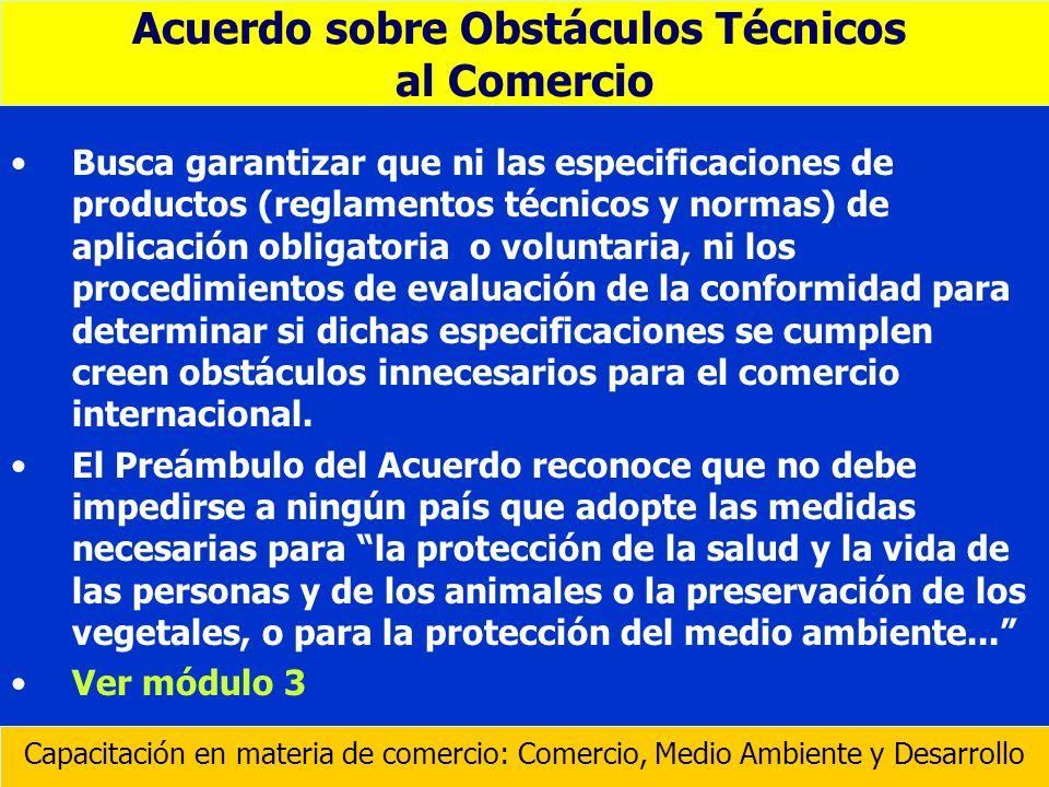 Acuerdo sobre Obstáculos Técnicos