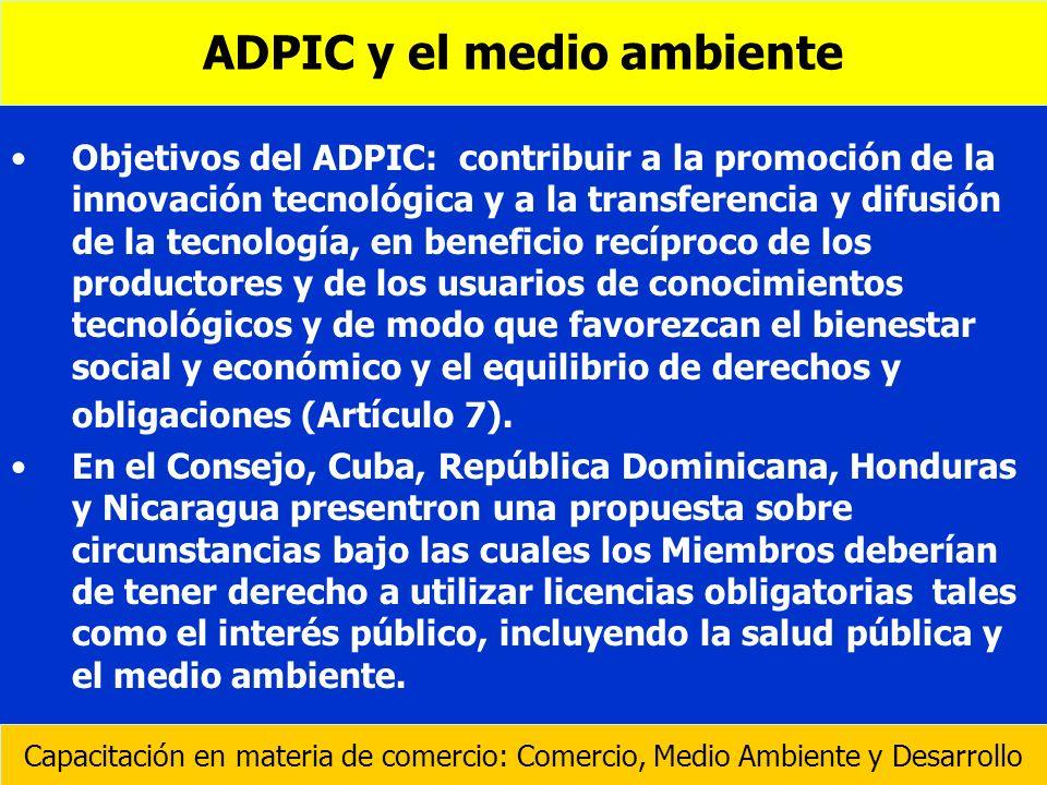 ADPIC y el medio ambiente