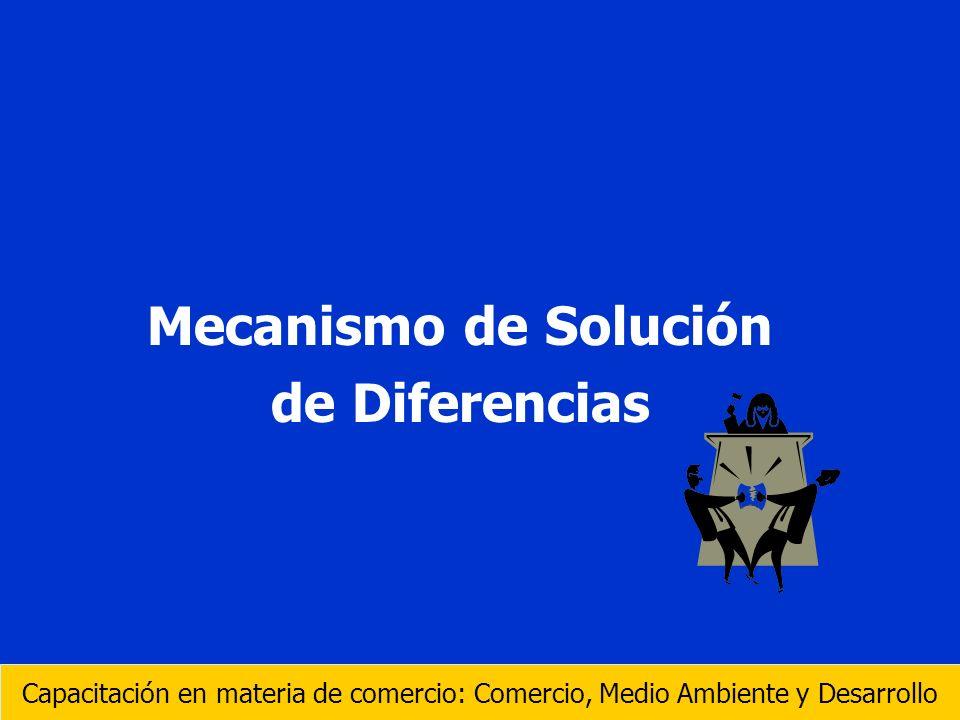 Mecanismo de Solución de Diferencias