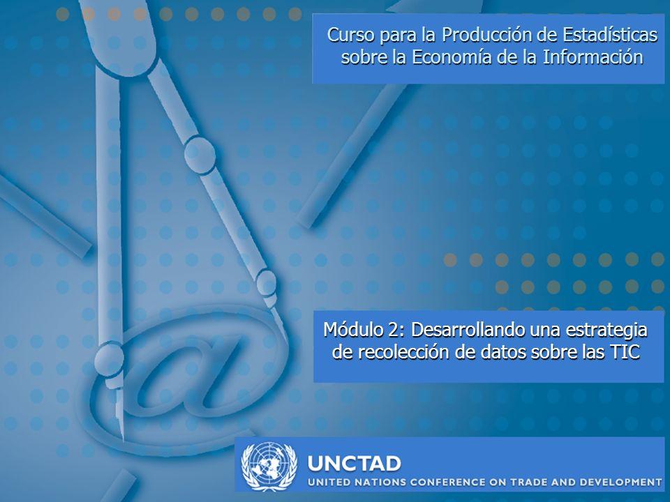Curso para la Producción de Estadísticas sobre la Economía de la Información