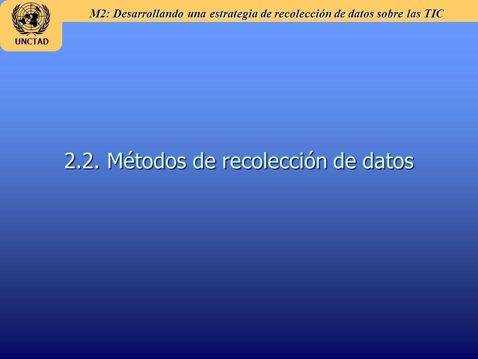 2.2. Métodos de recolección de datos