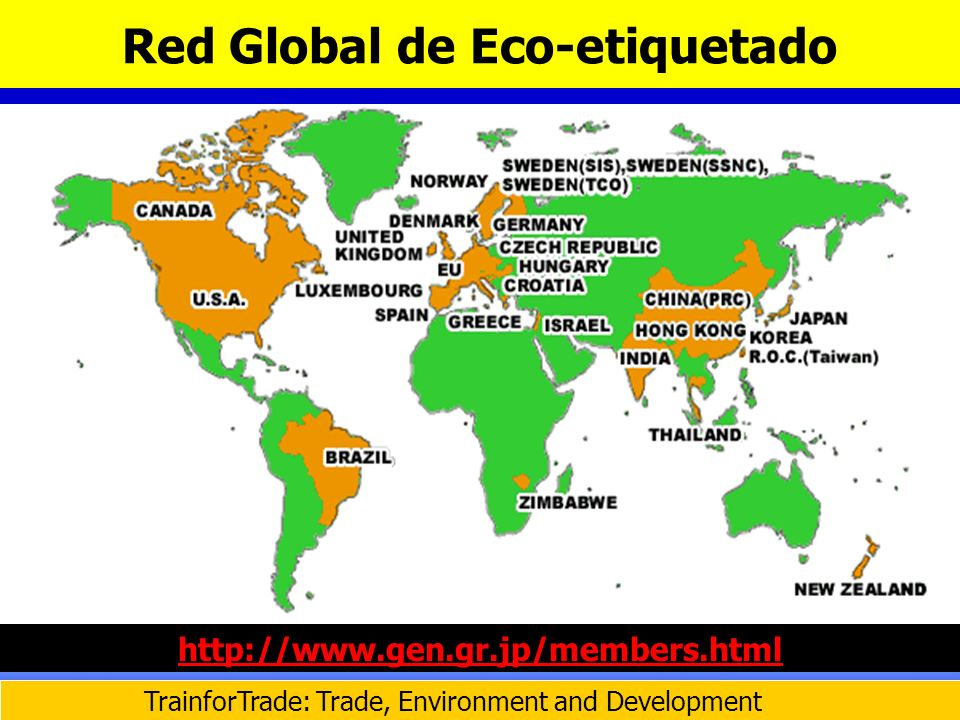 Red Global de Eco-etiquetado