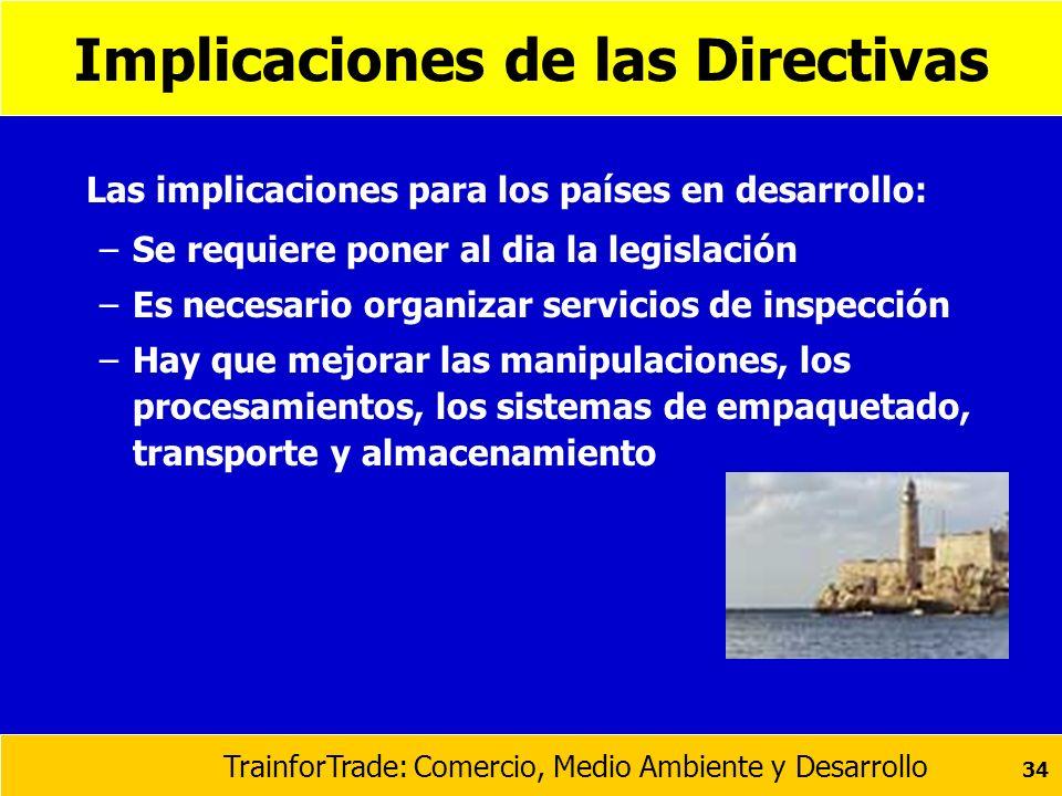 Implicaciones de las Directivas