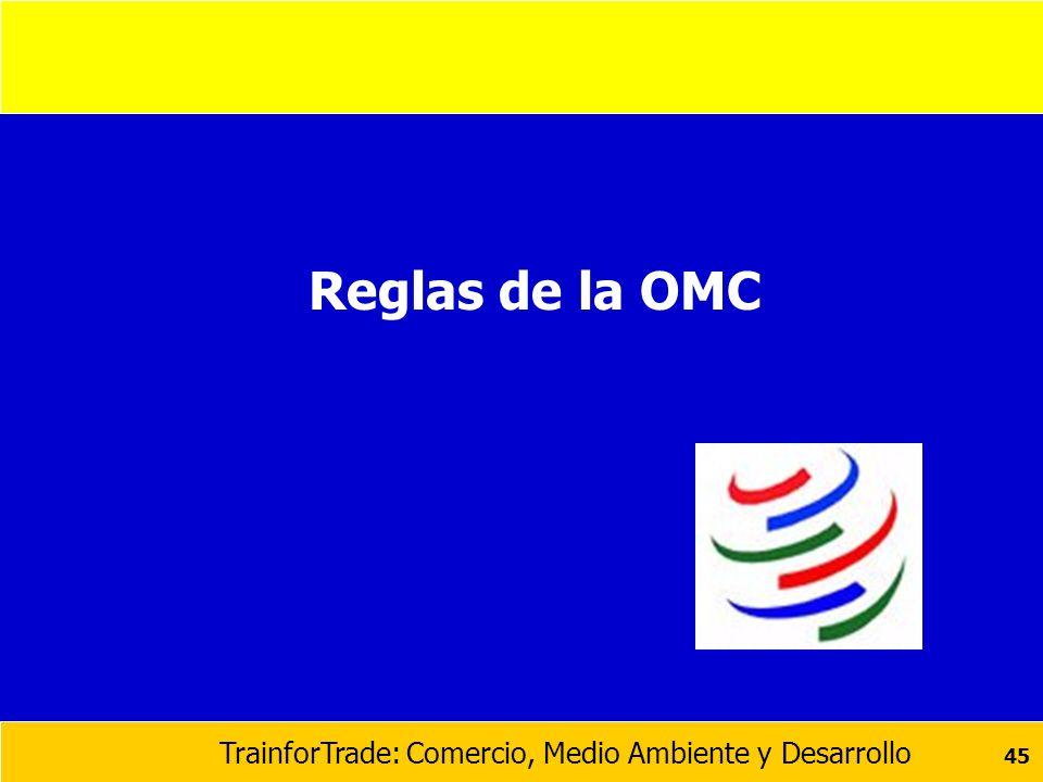 Reglas de la OMC