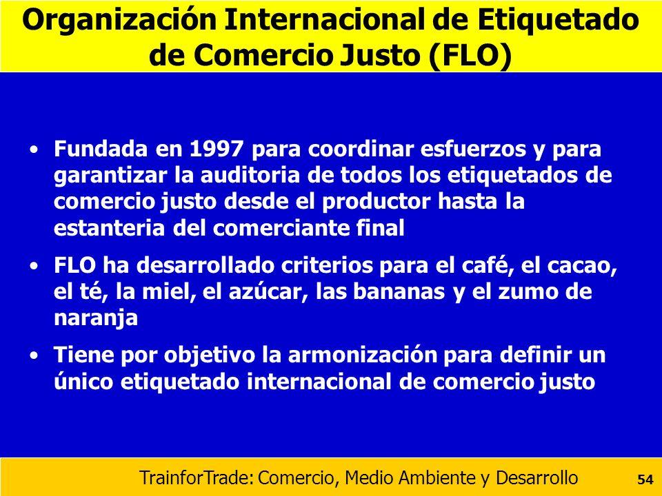 Organización Internacional de Etiquetado de Comercio Justo (FLO)
