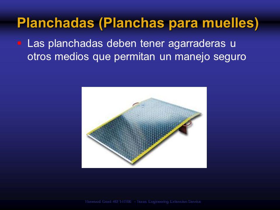 Planchadas (Planchas para muelles)