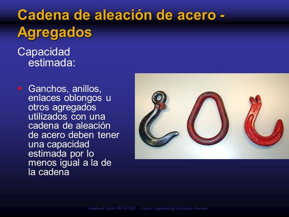 Cadena de aleación de acero - Agregados