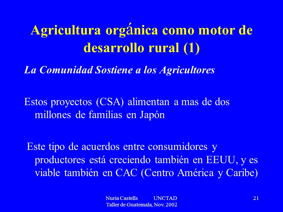 Agricultura orgánica como motor de desarrollo rural (1)