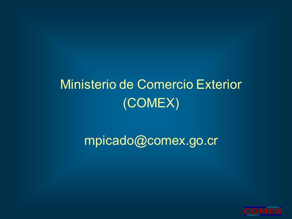 Ministerio de Comercio Exterior