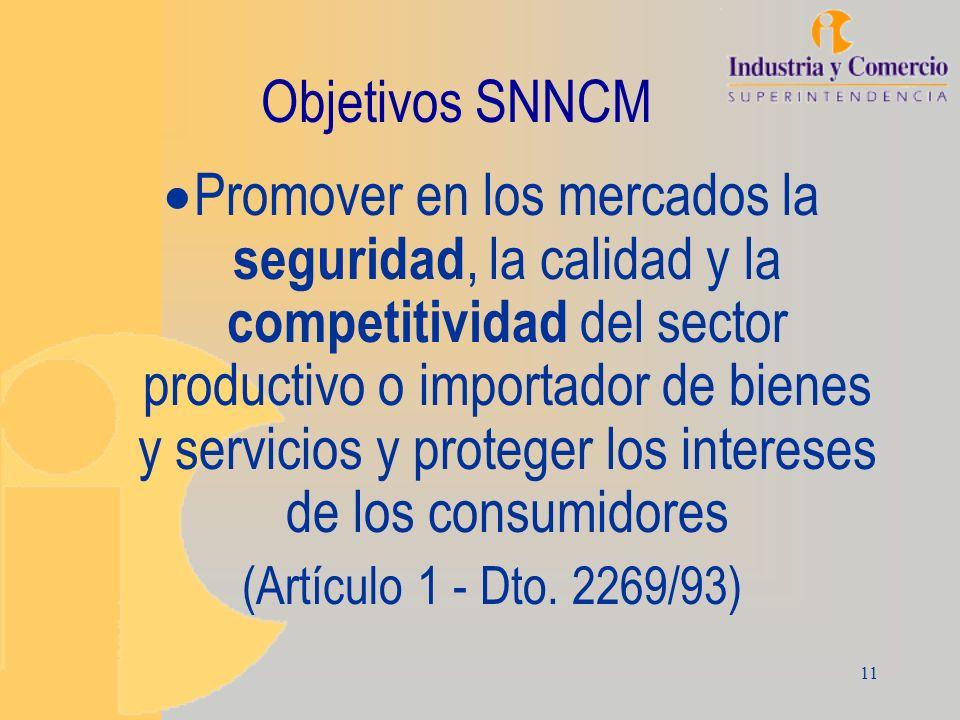 Objetivos SNNCM