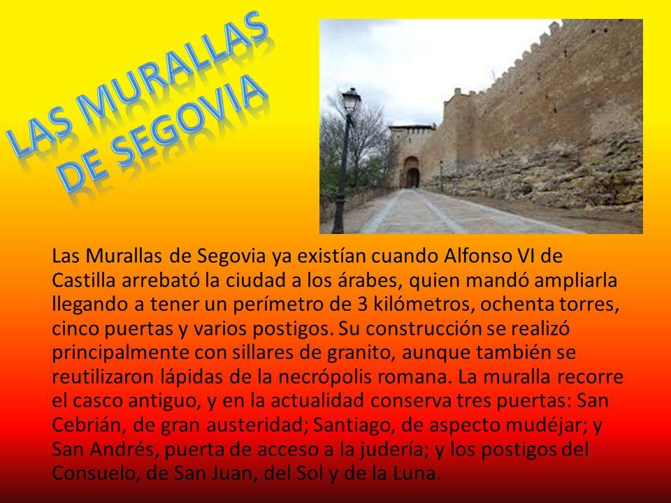 Las murallas De segovia