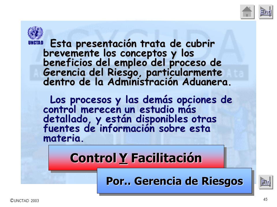 Control Y Facilitación Por.. Gerencia de Riesgos