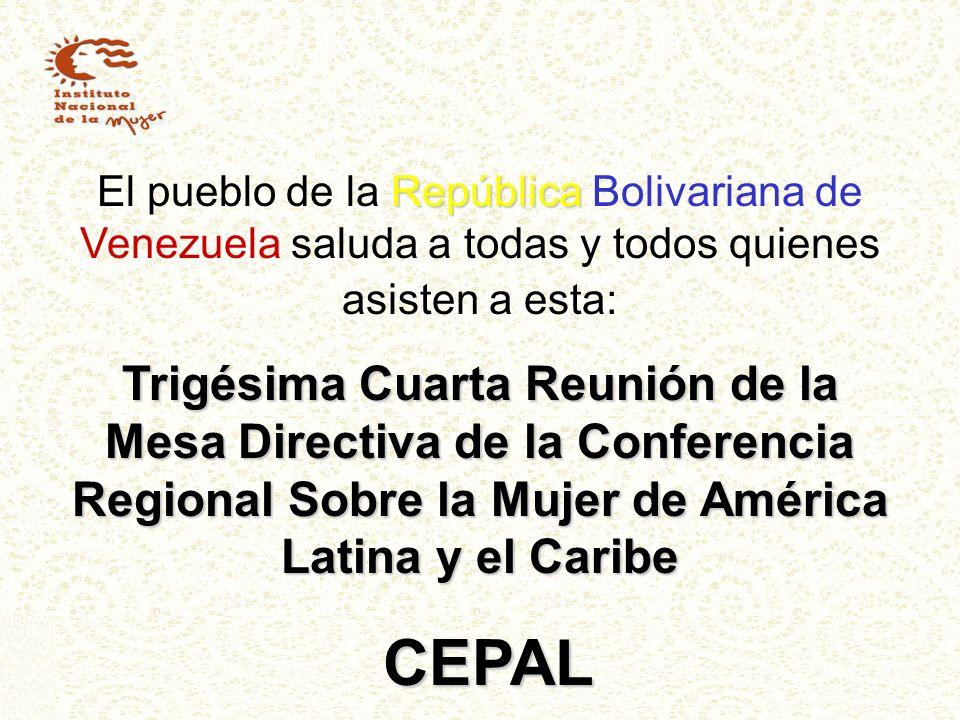 El pueblo de la República Bolivariana de Venezuela saluda a todas y todos quienes asisten a esta:
