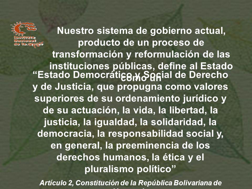 Artículo 2, Constitución de la República Bolivariana de Venezuela