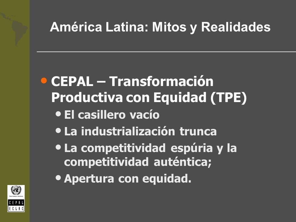 América Latina: Mitos y Realidades