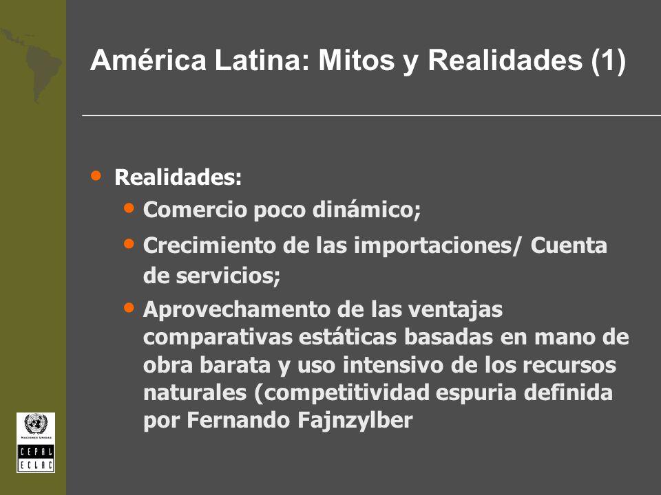 América Latina: Mitos y Realidades (1)