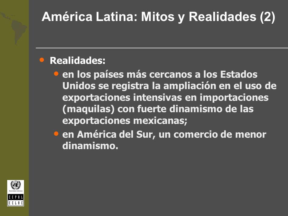 América Latina: Mitos y Realidades (2)