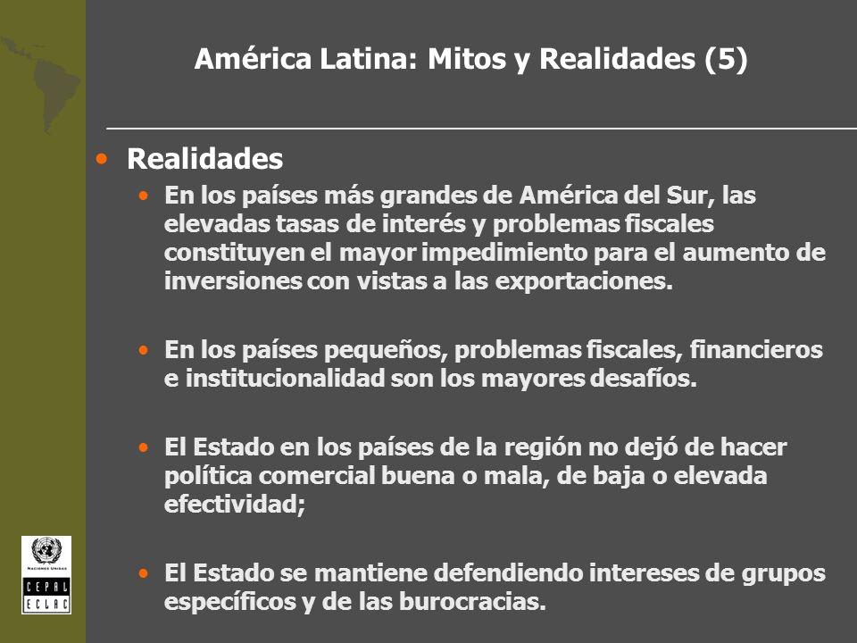 América Latina: Mitos y Realidades (5)