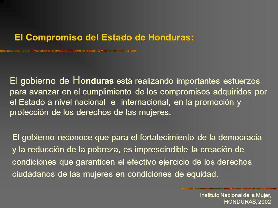 El Compromiso del Estado de Honduras: